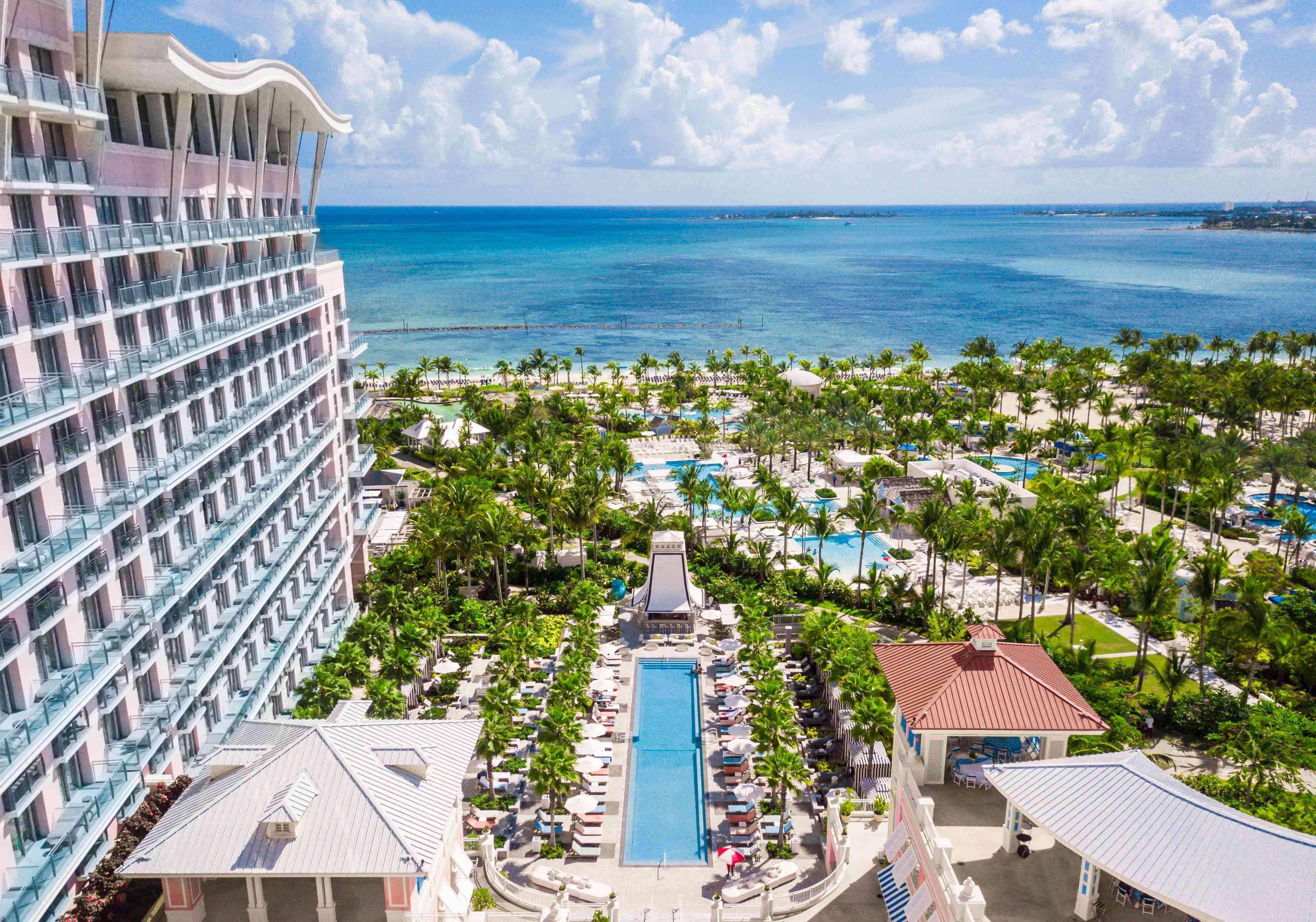 pool and ocean view from SLS Baha Mar