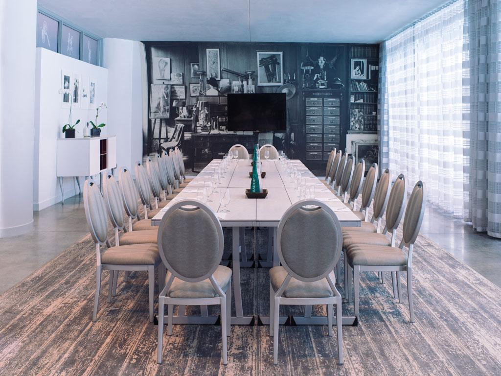 sls south beach clyde conference room